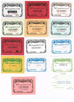 Títulos Portugueses de 1975 a 1986